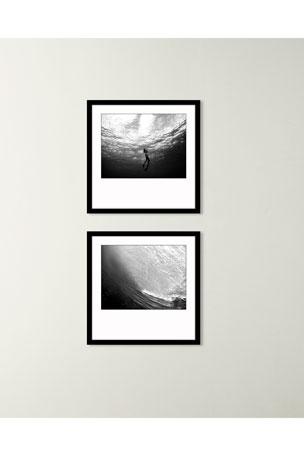 "Paragon Decors ""Underwater View II"" Art Print ""Underwater View I"" Art Print"