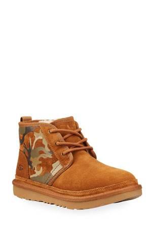 UGG Boy's Neumel II Camo-Print Sneaker Boots, Baby/Toddlers