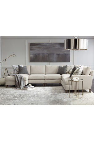 Bernhardt Mila Left Armed Chaise Sectional Mila Right Armed Chaise Sectional