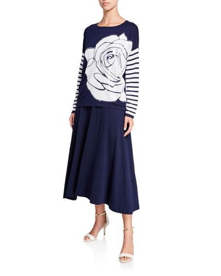 Joan Vass Classic Long Skirt
