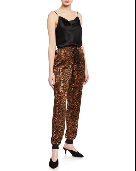 Cami NYC The Zoe Animal Print Jogger Pants