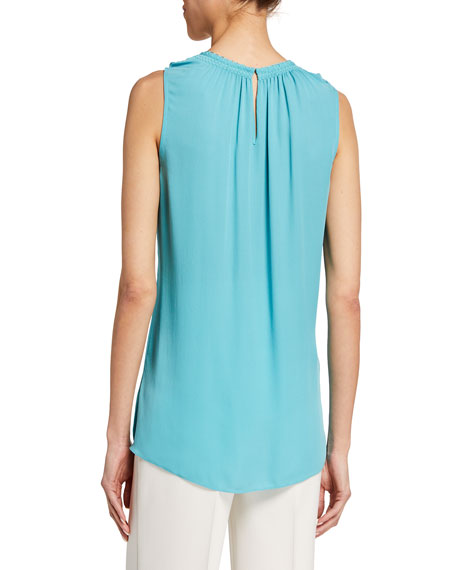 Image 2 of 2: Amina Sleeveless Blouse