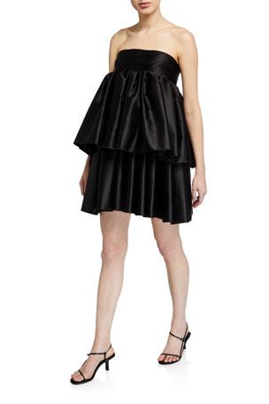 Rotate Birger Christensen Carmina Strapless Dress