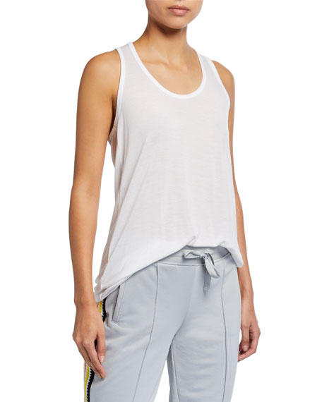 Image 1 of 4: ATM Anthony Thomas Melillo Modal Jersey Tank Top