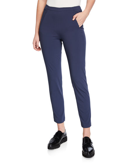 Image 1 of 3: Plus Size Tech Stretch Ankle Pants