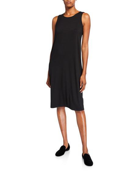 Eileen Fisher Crewneck Jersey Tank Dress