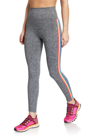 Spiritual Gangster Essential High-Waist Active Leggings w/ Side Tape
