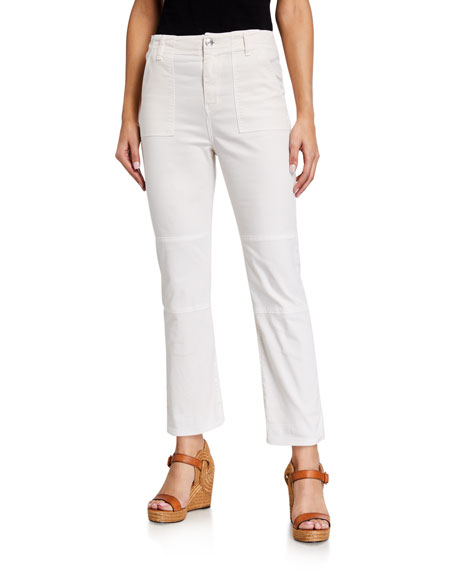 Image 1 of 3: Veronica Beard Jeans Lynne Mid Rise Cargo Pants