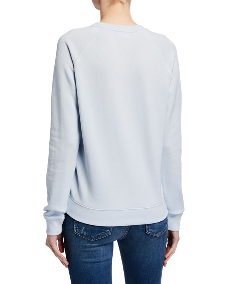 The Upside Bronte Embroidered Crewneck Sweatshirt