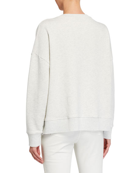 Frank & Eileen Tee Lab Ribbed Knit Fleece Sweatshirt