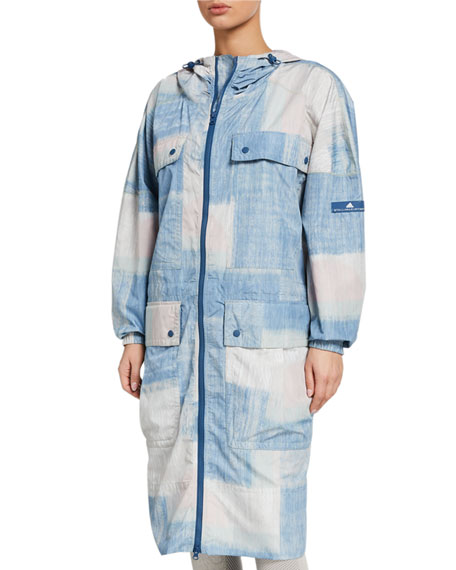 adidas by Stella McCartney Printed Parka Jacket