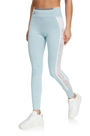 adidas by Stella McCartney High-Rise Run Tights