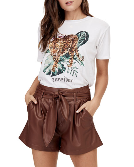 David Lerner Zanzibar Graphic Boyfriend Tee