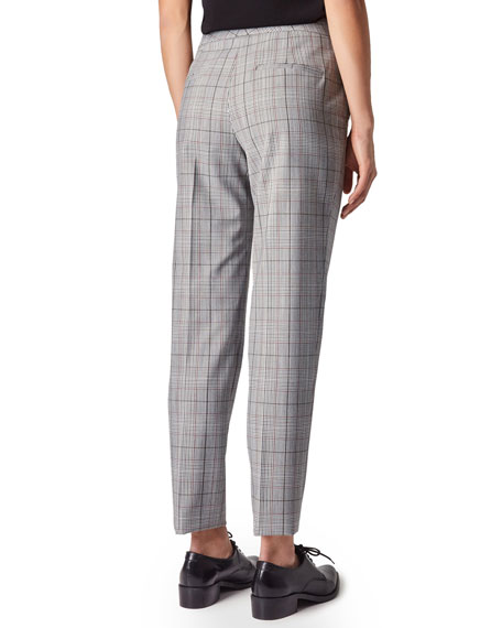 Judith & Charles Clive Plaid Ankle Pants