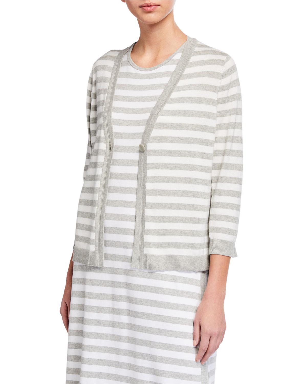 Joan Vass Striped Dress & Matching Items