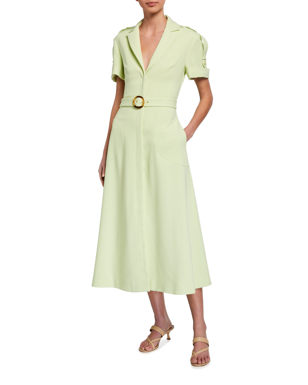 Jonathan Simkhai Collection Helena Crepe Dress