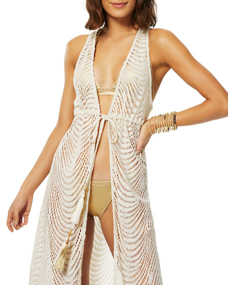 Image 2 of 3: Ramy Brook Rhona Metallic Coverup