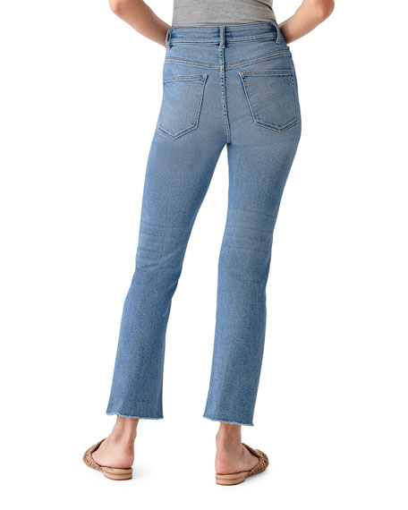 DL1961 Premium Denim Mara Ankle High-Rise Straight Jeans