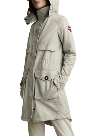 Canada Goose Calvary Lightweight Trench Coat, Neutral
