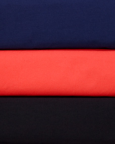 Finley Petite Jenna Button-Down Roll-Tab Long-Sleeve Ruffle-Tiered Shirtdress