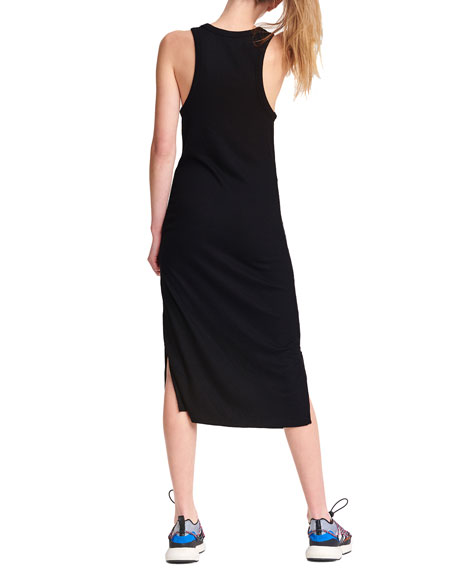 Image 2 of 4: Rag & Bone The Knit Rib Zip Midi Dress