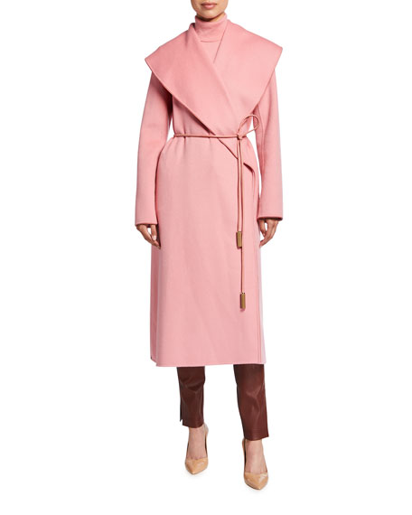 Image 1 of 2: Lafayette 148 New York Ashford Luxe Cashmere Coat