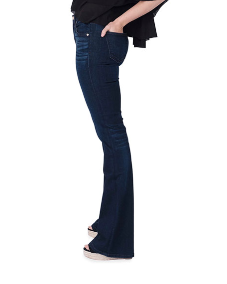 Image 2 of 5: Midheaven Denim Valentina Mid-Rise Flare Jeans