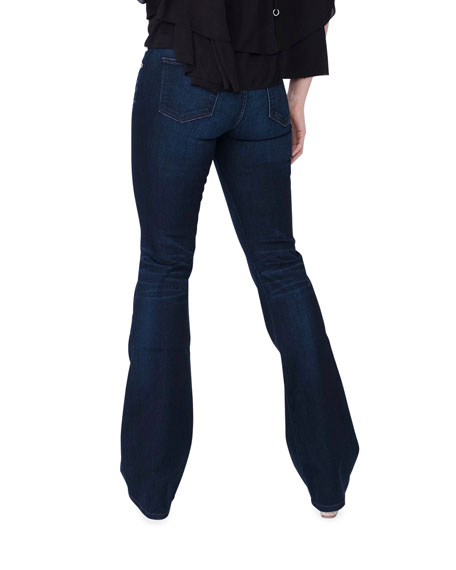 Image 3 of 5: Midheaven Denim Valentina Mid-Rise Flare Jeans