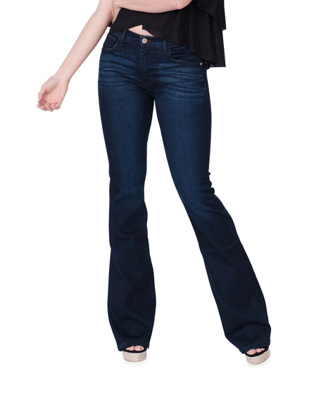 Image 1 of 5: Midheaven Denim Valentina Mid-Rise Flare Jeans