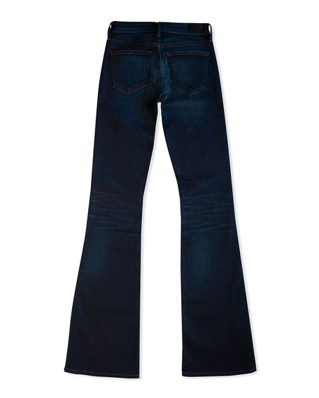 Image 5 of 5: Midheaven Denim Valentina Mid-Rise Flare Jeans