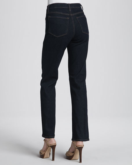 Straight-Leg Jeans, Blue