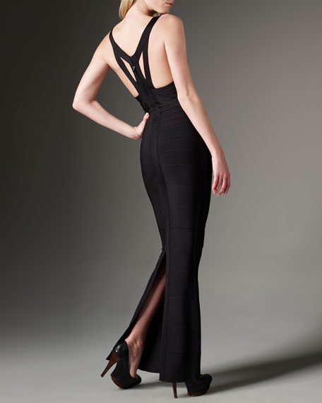 Racerback Bandage Gown