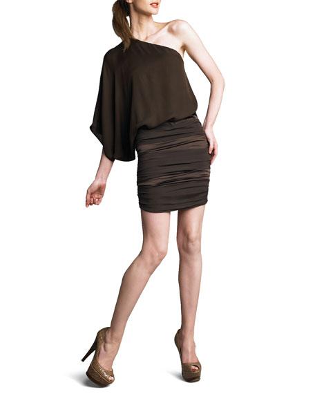 Russo One-Shoulder Dress