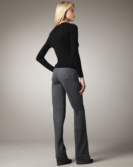 Grace Boot-Cut Jeans, Color Washes