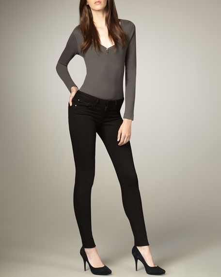 Visionaire Becca High-Waist Skinny Jeans