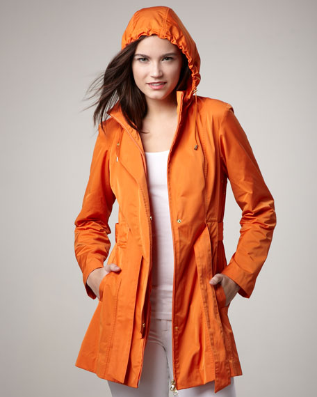 Removable-Hood Coat