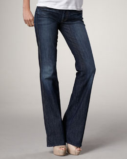 7 For All Mankind A-Pocket Flare Nouveau NY Jeans