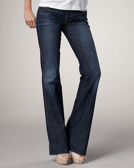 7 For All Mankind A-Pocket Flare Nouveau NY