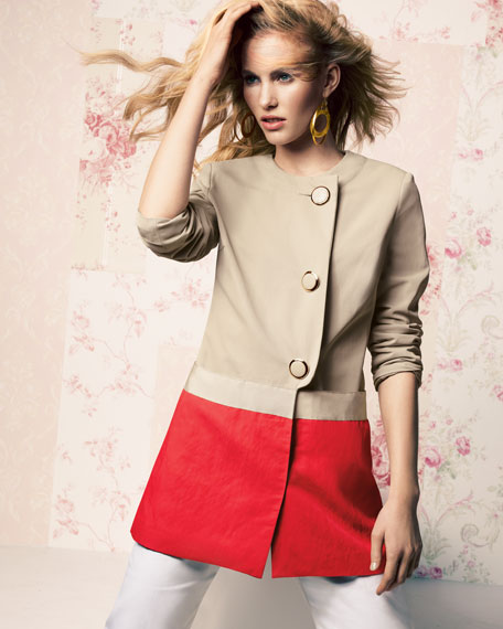 Alexa Colorblock Coat