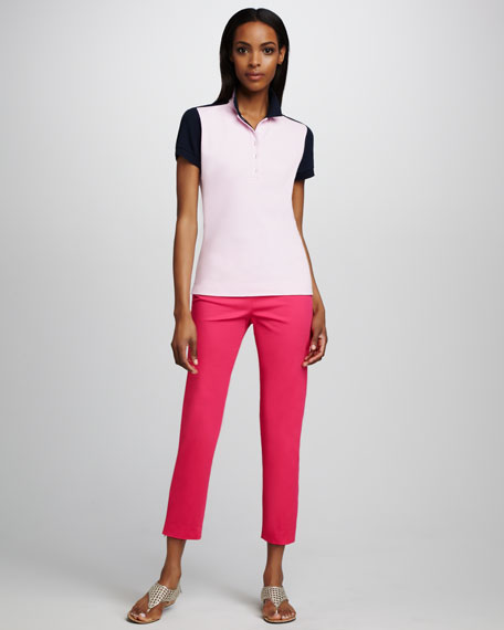 Slim Zip-Cuff Pants