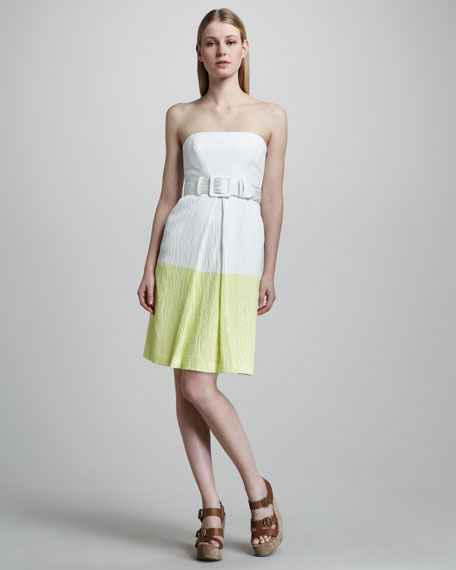 Obelisk Strapless Dress
