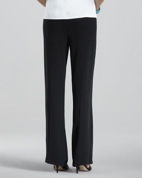 Silk-Georgette Pants