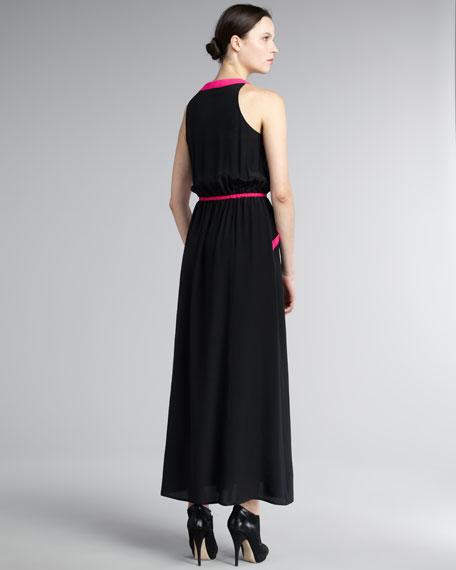 Hudson Colorblock Gown