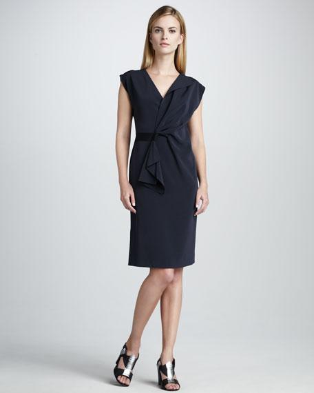 Dalia Cap-Sleeve Dress