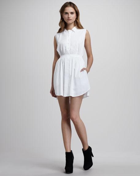 Button-Up Dress