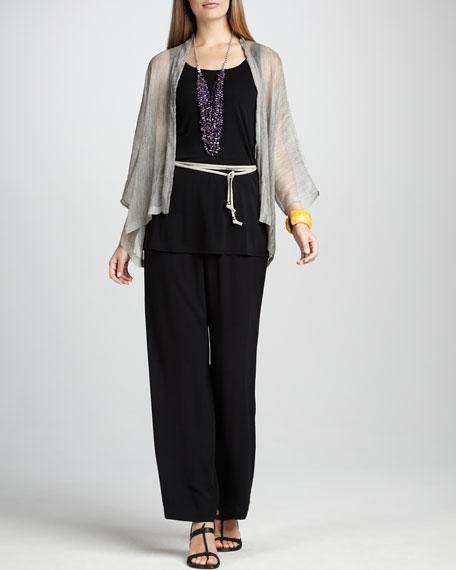 Sheer Crinkled Jacket, Women's