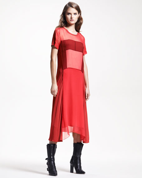 Chiffon/Jersey Dress