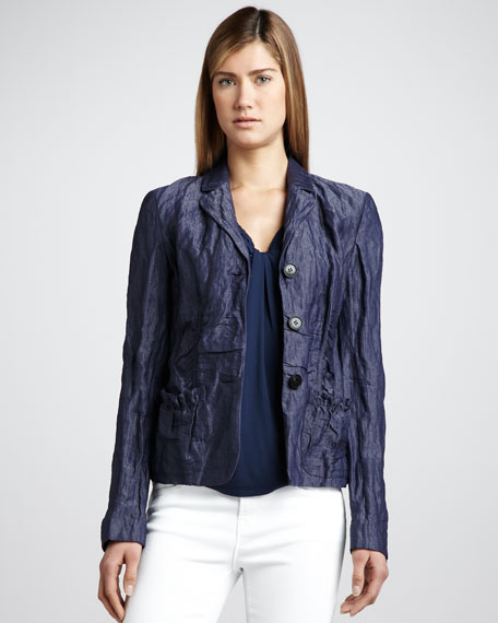 Anika Crinkled Jacket