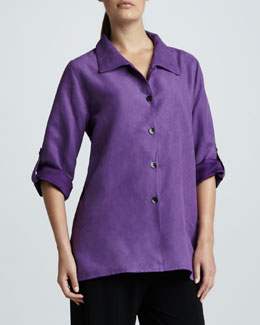 Caroline Rose Sueded Big Shirt