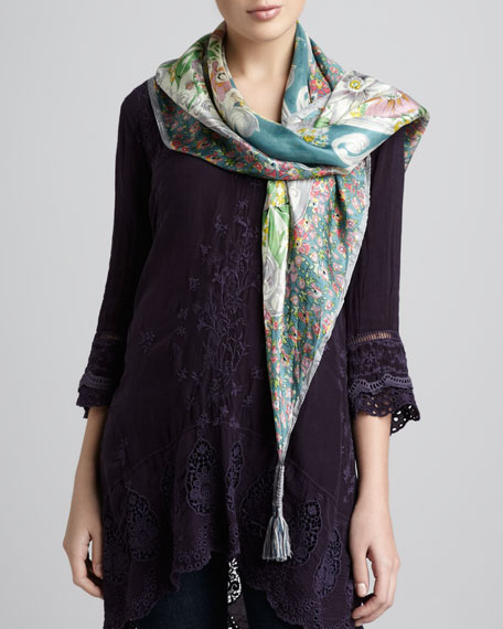 Valenza Silk Scarf